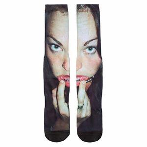 HUF x MCGRATH : Eat Me Socks - NWT